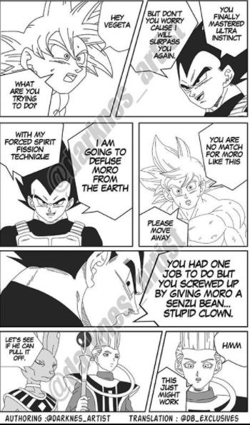 Dragon Ball Super: Vì sai lầm của Goku, Vegeta hy sinh nổ banh xác cùng Moro để cứu Trái Đất? - Ảnh 2.