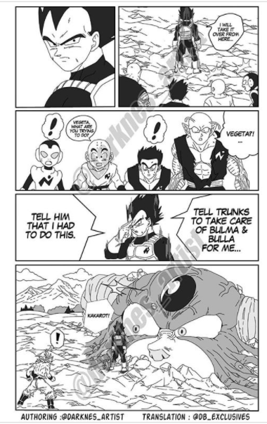Dragon Ball Super: Vì sai lầm của Goku, Vegeta hy sinh nổ banh xác cùng Moro để cứu Trái Đất? - Ảnh 1.