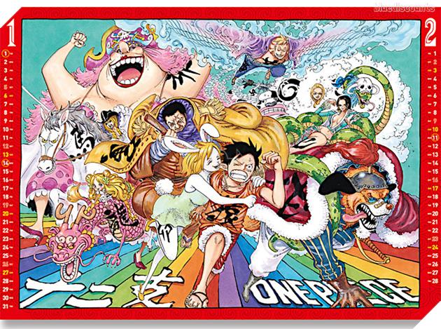 Kết thúc năm 2020 One Piece chỉ đạt con số về chap là 998?
