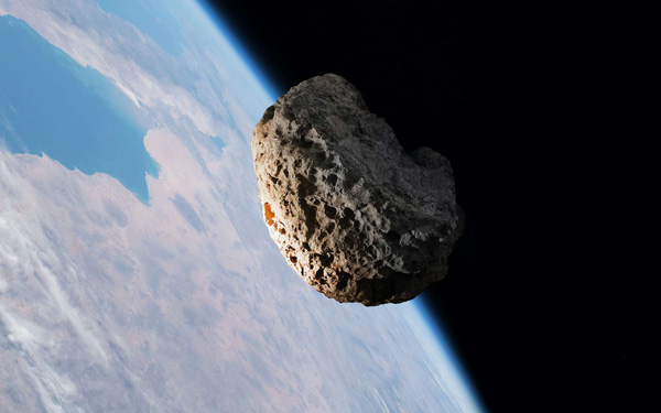 Suýt toang: Thiên thạch mém lao thẳng vào Trái Đất ở khoảng cách gần kỷ lục mà không ai hay biết - Ảnh 1.