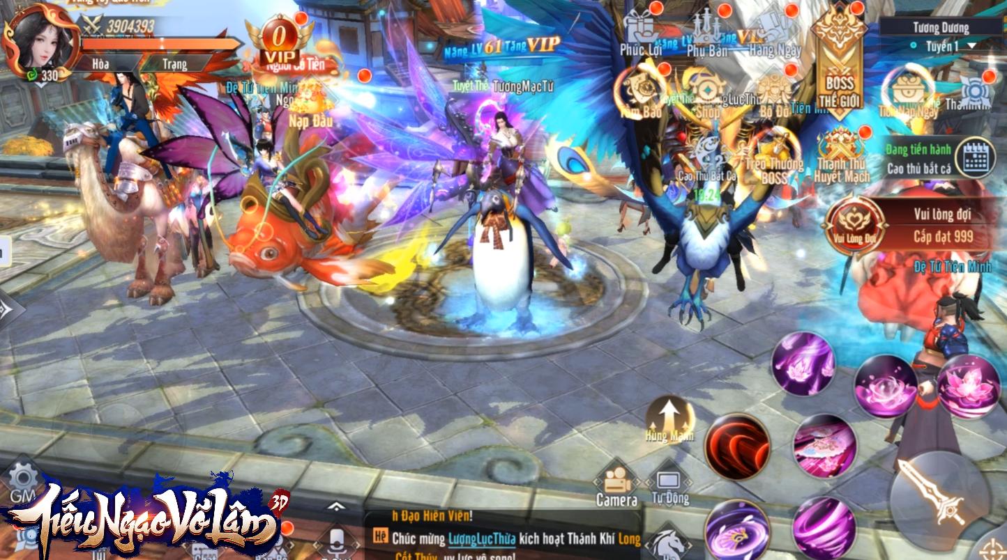 Ờ mây ding Gút Chóp! Tựa game bom tấn toxic thách thức cả gamer Việt: PK liên server từ... level 1 - Ảnh 8.