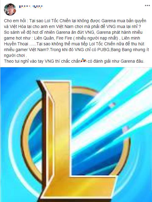 """Game thủ cho rằng phát hành Tốc Chiến thì Garena """"ăn đứt"""" VNG, lý do là vì Lửa Chùa, VNG cũng thua xa độ hot - Ảnh 3."""