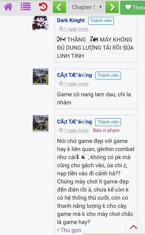 Genshin Impact bị một người chơi cho là hút máu, sử dụng ngôn từ xúc phạm cộng đồng của tựa game này - Ảnh 4.