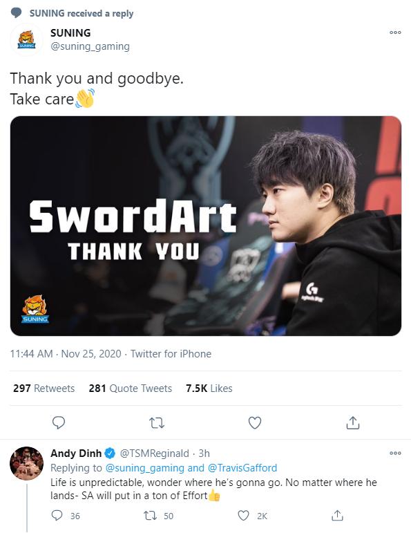 Chính thức chia tay SwordArt, tương lai của Suning lại bị hoài nghi - Ảnh 2.