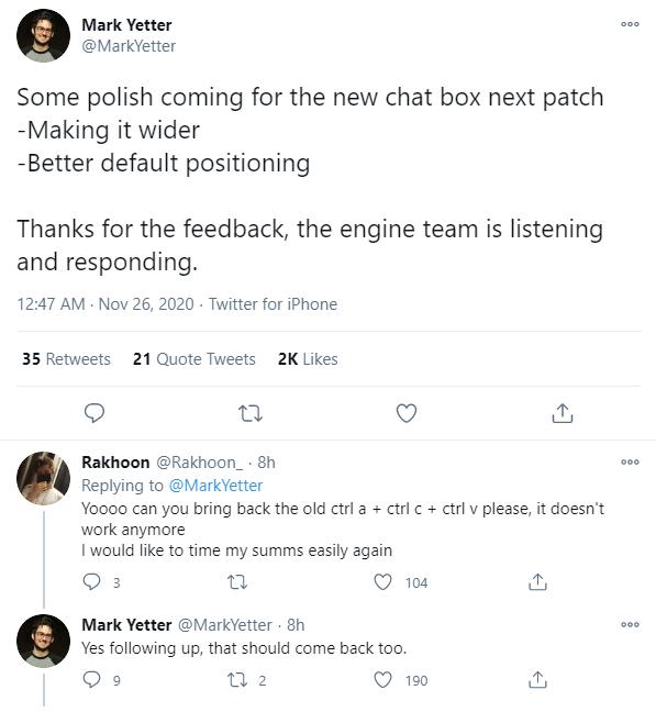 Riot Games thừa nhận sai lầm khi để khung chat bé như mấy game mobile và sửa theo ý cộng đồng LMHT - Ảnh 5.