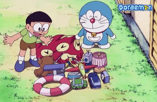 Cỗ máy thời gian và 5 món bảo bối thần kỳ của Doraemon đã từng xuất hiện trong các phim nổi tiếng - Ảnh 3.