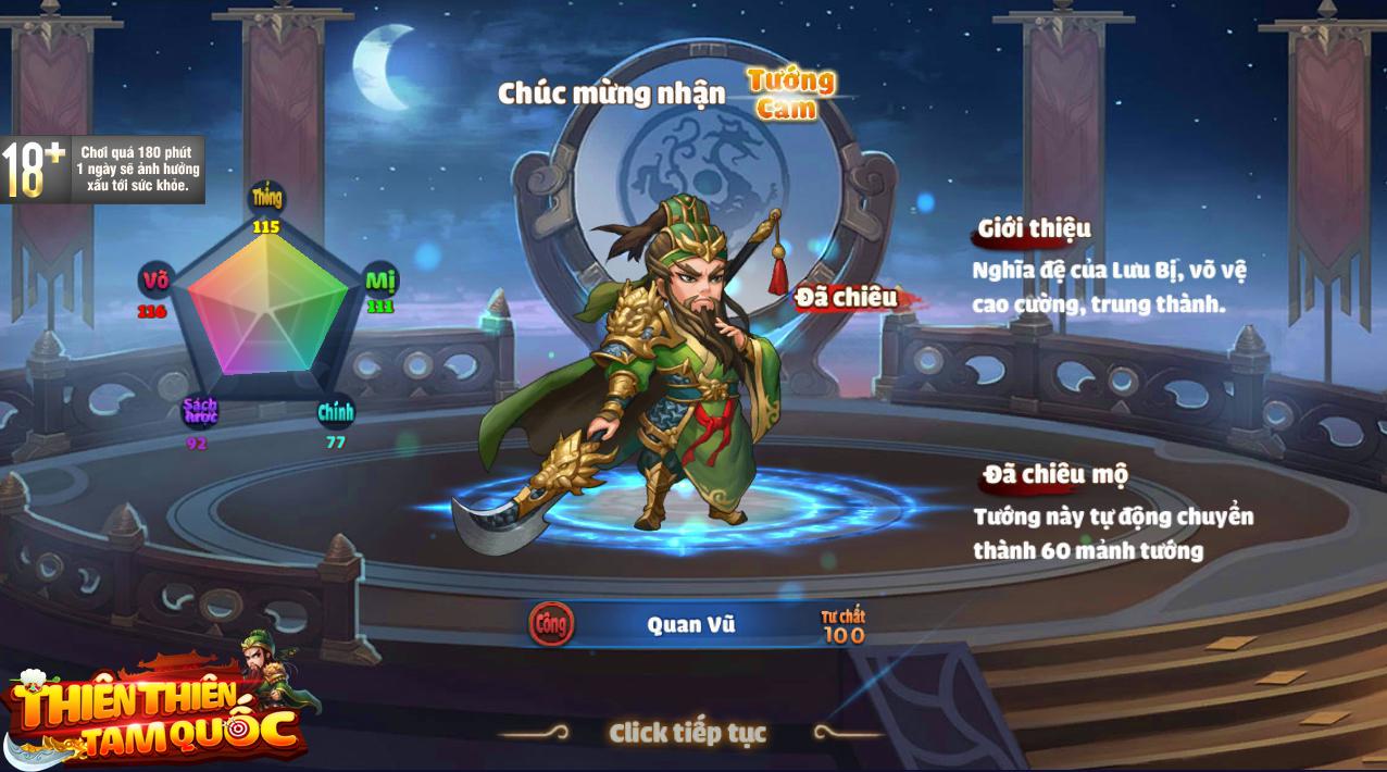 Đồ họa 2D nhưng lọt TOP game chiến thuật đỉnh nhất, đâu là quân Át chủ bài của Thiên Thiên Tam Quốc? - Ảnh 4.