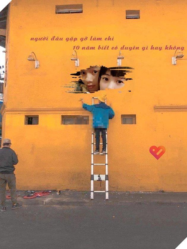 Trào lưu chế ảnh bức tường vàng ở Đà Lạt trên mạng xã hội, một hot trend mới sẽ lại ra đời? - Ảnh 2.