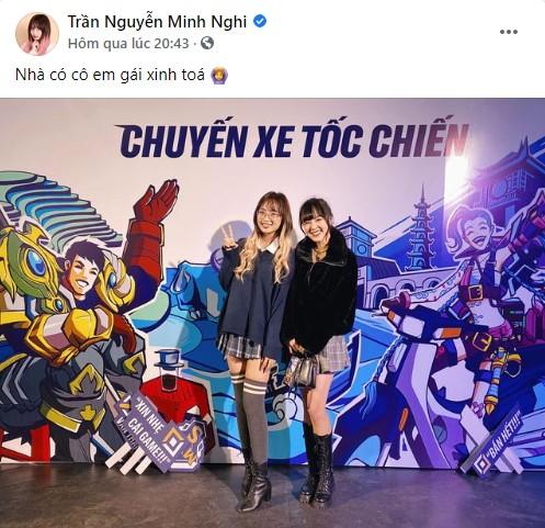 """MC Minh Nghi gọi MC Thảo Trang là """"em gái trong nhà"""", có vẻ như đây là một lời thừa nhận ngầm về việc cô chuẩn bị đầu quân cho 500Bros?"""