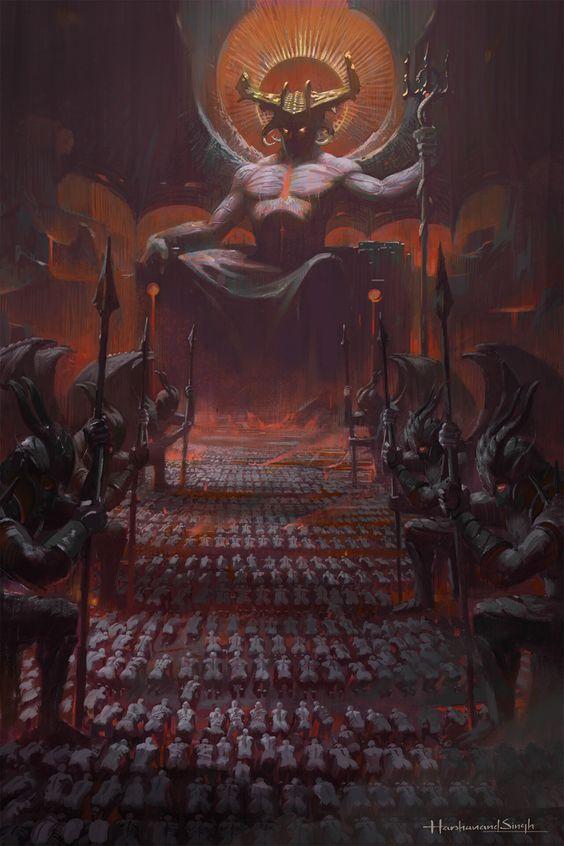 Asmodeus: Hoàng tử sắc dục của địa ngục, kẻ khiến cho cả người và quỷ run sợ - Ảnh 2.