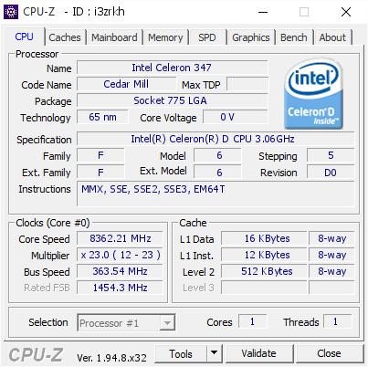 Trố mắt với màn ép xung CPU Intel Celeron 14 năm tuổi vượt 8 GHz, buff đến 173% - Ảnh 1.