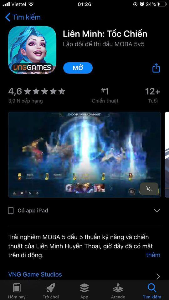 """Người chơi tự nhận """"game số 1 thế giới"""" lên kế hoạch đánh sập, xóa Tốc Chiến khỏi Google Play - Ảnh 1."""