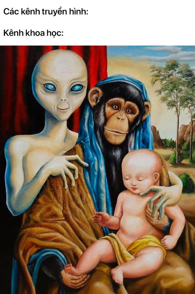 Loạt meme tranh cổ điển cho thấy dân mạng có thể đem sự hài hước vào tất cả mọi thứ trên đời - Ảnh 3.