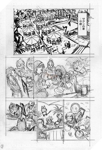 Hé lộ phác thảo Dragon Ball Super chap 67: Sau cuộc chiến với Moro tất cả được hồi sinh trừ Merus - Ảnh 7.