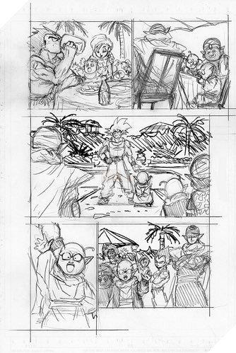 Hé lộ phác thảo Dragon Ball Super chap 67: Sau cuộc chiến với Moro tất cả được hồi sinh trừ Merus - Ảnh 8.