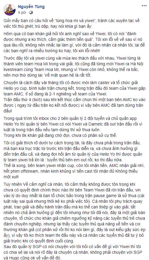 Biến căng: Tùng Họa Mi nói thần đồng Liên Quân Việt hám tiền, không tôn trọng mình và coi thường khán giả - Ảnh 4.