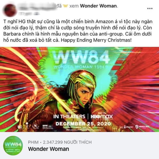 Wonder Woman 1984 bị netizen so sánh với... Hương Giang vì hay nói đạo lý, người khen kẻ chê lẫn lộn - Ảnh 2.
