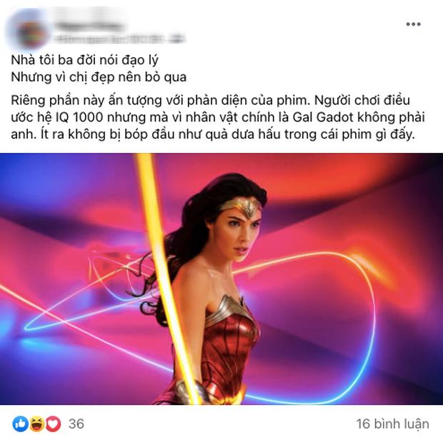 Wonder Woman 1984 bị netizen so sánh với... Hương Giang vì hay nói đạo lý, người khen kẻ chê lẫn lộn - Ảnh 3.