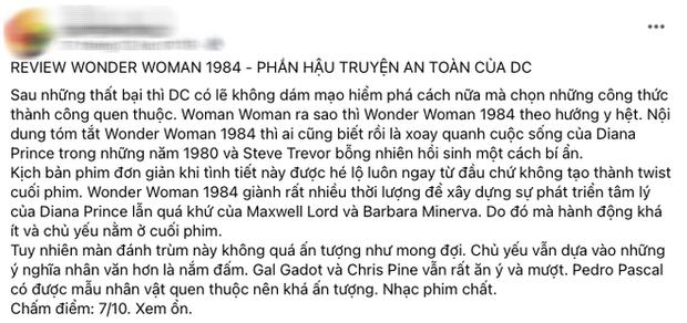 Wonder Woman 1984 bị netizen so sánh với... Hương Giang vì hay nói đạo lý, người khen kẻ chê lẫn lộn - Ảnh 4.