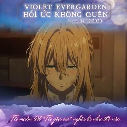 Thứ duy nhất còn lại của Gilbert dành cho Violet là một chiếc vòng cổ cúc màu xanh lá cây giống với màu mắt của Gilbert.