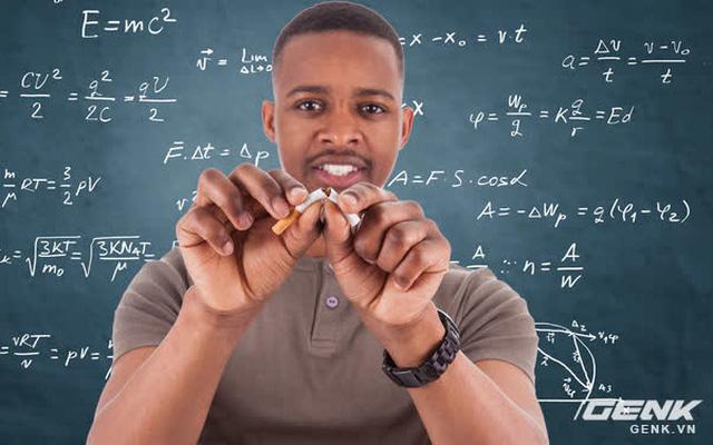 Nghiên cứu: Người giỏi toán dễ bỏ thuốc lá hơn người bình thường - Ảnh 1.