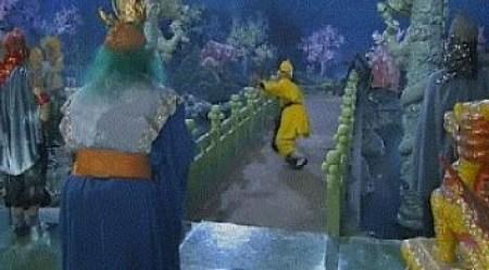 Tây Du Ký 1986 đã lừa khán giả suốt 34 năm, hóa ra những cảnh quay long cung đều là giả trân - Ảnh 3.