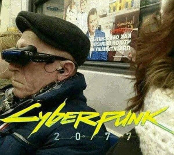 Những hình ảnh hài hước cho thấy hóa ra siêu phẩm game Cyberpunk 2077 lại gần hơn chúng ta nghĩ - Ảnh 2.