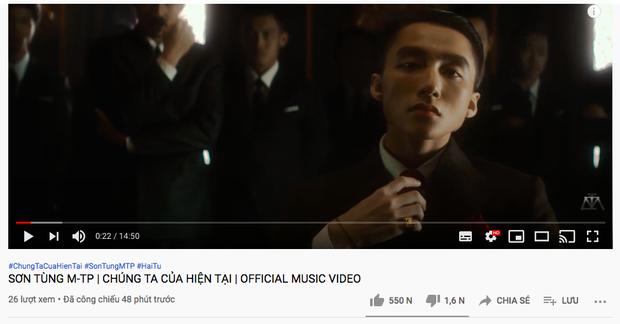Sơn Tùng M-TP ra MV mới: Đạt kỷ lục 8 triệu người theo dõi dù bị kẹt view Youtube cả tiếng đồng hồ - Ảnh 1.