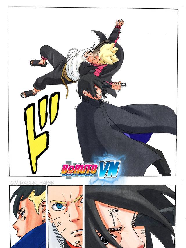 Dự đoán Boruto chap 54: Sasuke đứng nhìn Boruto và Kawaki choảng nhau - Ảnh 2.