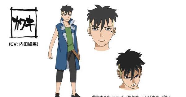 Kawaki trong anime Boruto