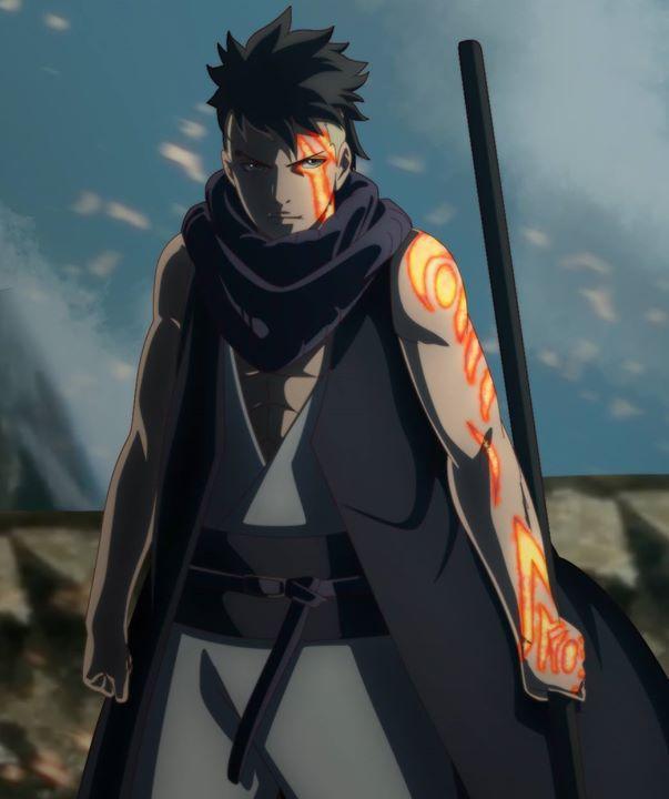 Kawaki từng xuất hiện trong tập đầu tiên của series anime Boruto