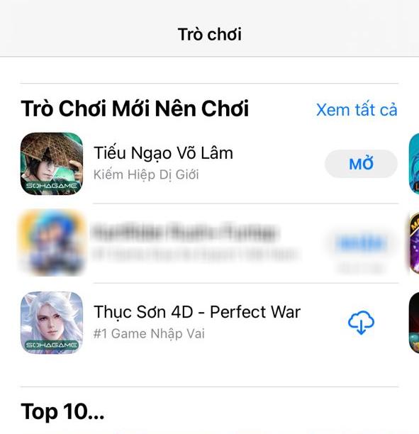 Tiếu Ngạo Võ Lâm - Kiếm Hiệp Dị Giới soán ngôi con cưng Riot, chiếm TOP 1 game đáng chơi nhất trên App Store - Ảnh 1.