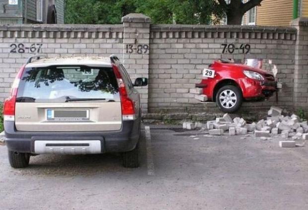 Những tai nạn ngớ ngẩn của hội mới học lái xe đã đi chơi Giáng Sinh - Ảnh 14.