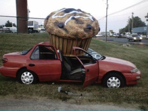 Những tai nạn ngớ ngẩn của hội mới học lái xe đã đi chơi Giáng Sinh - Ảnh 6.