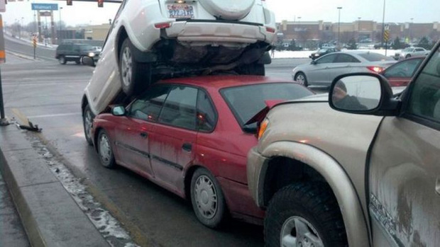 Những tai nạn ngớ ngẩn của hội mới học lái xe đã đi chơi Giáng Sinh - Ảnh 10.