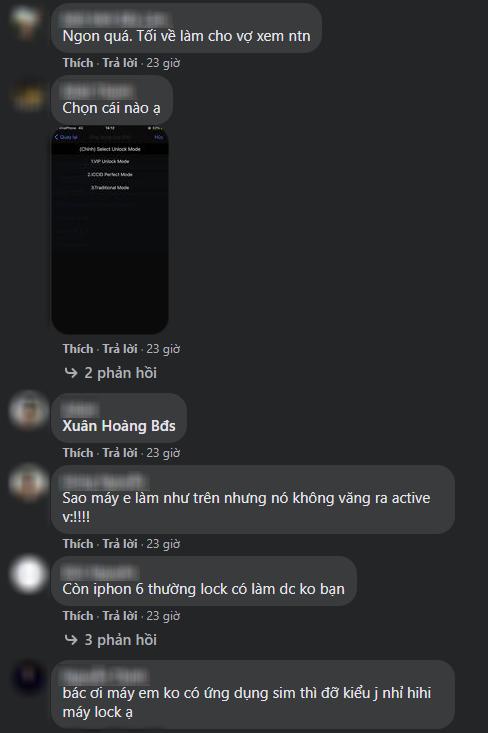 Hô biến iPhone Lock thành bản quốc tế chỉ trong một nốt nhạc, cộng đồng Việt lại được phen dậy sóng - Ảnh 4.