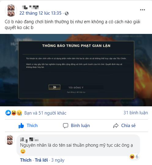 Điền sai thông tin không phải lý do game thủ Tốc Chiến bị xóa tài khoản Screenshot4-16088844546801880537848-1608884487553957060829
