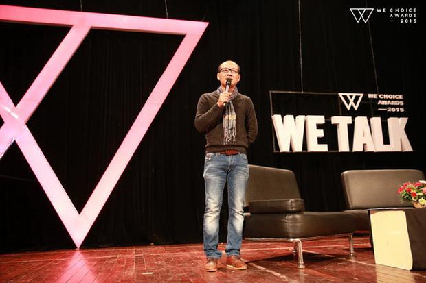 Nhà báo Phan Đăng trong WeTalk set 3 ngày 10/1/2016