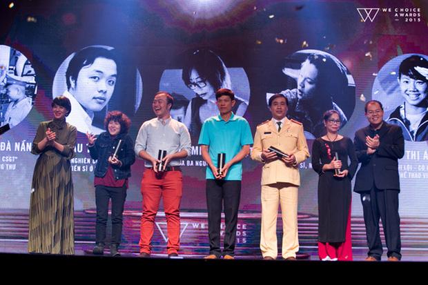 Top 5 Đại sứ truyền cảm hứng của WeChoice Awards 2015
