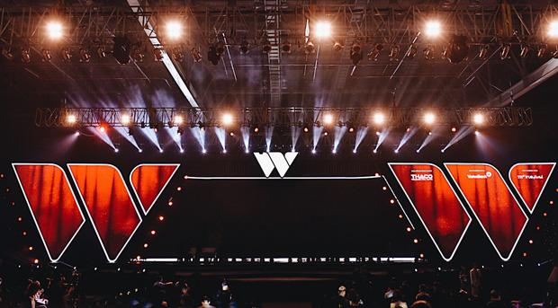 Sân khấu WeChoice Awards 2017