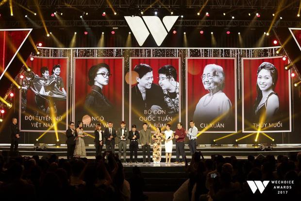Top 5 Đại sứ truyền cảm hứng của WeChoice Awards 2017