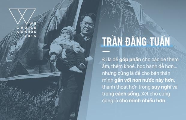 Top 5 Đại sứ truyền cảm hứng của WeChoice Awards 2014 - Nhà báo Trần Đăng Tuấn