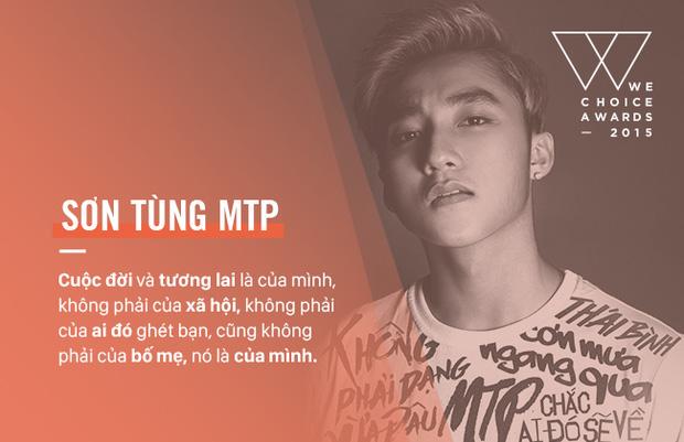 Top 5 Đại sứ truyền cảm hứng của WeChoice Awards 2014 - Ca sĩ Sơn Tùng M-TP