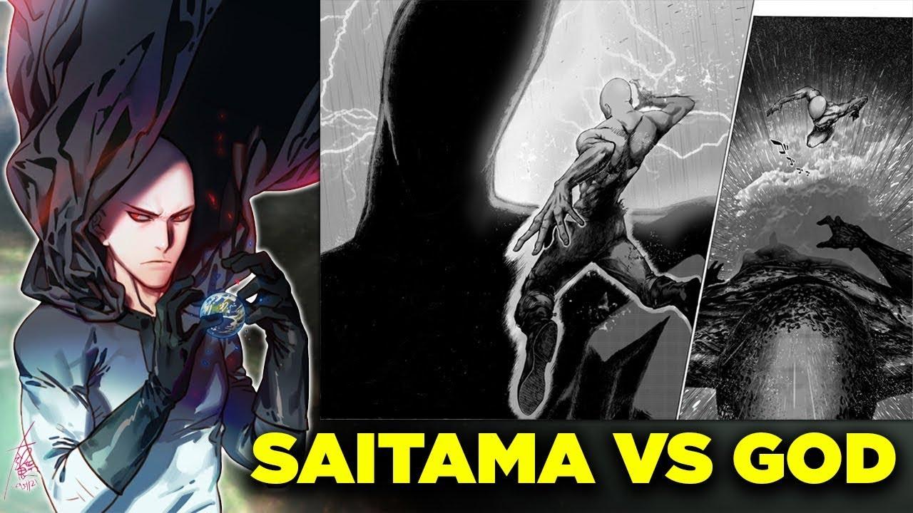 """One Punch Man: Bàn luận cuộc chiến giữa Saitama và GOD, người duy nhất làm rách áo của """"Thánh Một Đấm"""""""