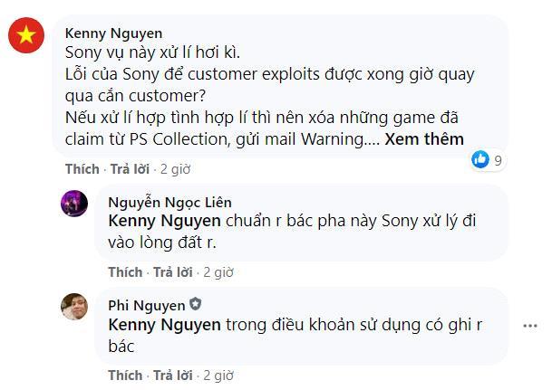 Game thủ Việt kêu trời vì bị khóa tài khoản PS5, PS4 - Ảnh 6.