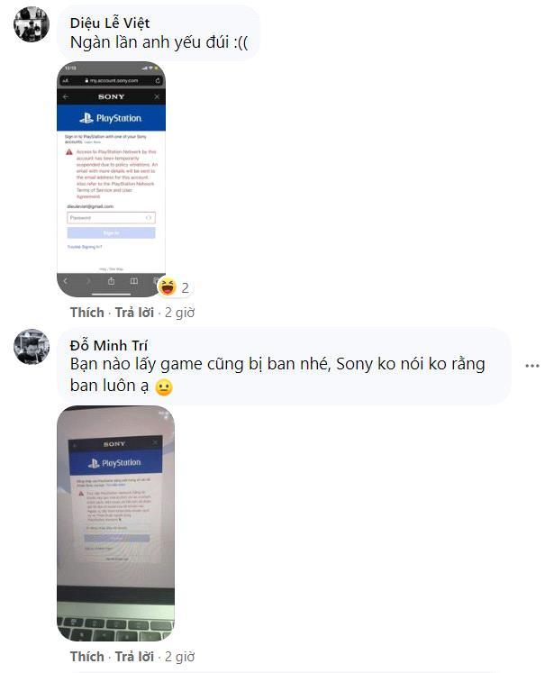 Game thủ Việt kêu trời vì bị khóa tài khoản PS5, PS4 - Ảnh 8.