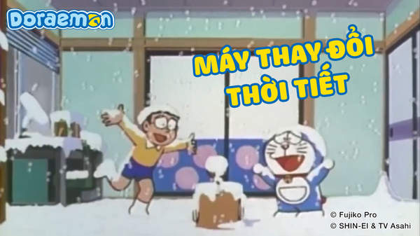 5 món bảo bối cực đỉnh có thể hô mưa gọi gió của Doraemon - Ảnh 2.