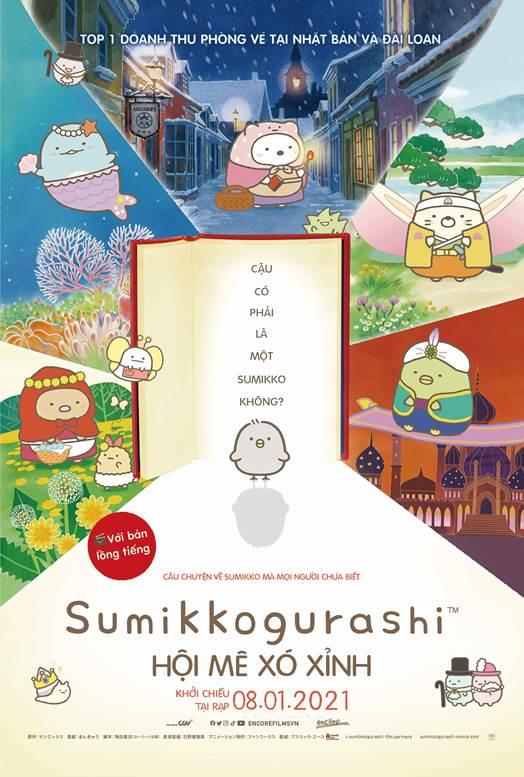 Thương hiệu Sumikko - hiện tượng phòng vé Nhật Bản và Đài Loan chính thức ra rạp Việt Nam mở màn năm mới! - Ảnh 2.