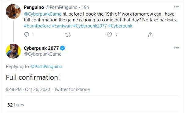 """Chắc hẳn nhiều game thủ chưa quên anh chàng """"số nhọ"""", xin sếp ngày nghỉ để chơi game, nhưng tiếc thay Cyberpunk lại bị hoãn đến tháng 12."""