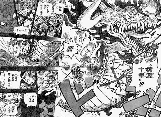 """Cơ thể Kaido hình như không mạnh như trong """"quảng cáo"""""""